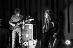 L to R: Julien Dussault, Yolande Laroche. Photographer: Stéphanie Godin.